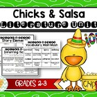 Chicks & Salsa Activity, Project, Vocabulary, & Assessment