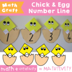 Chicky Egg Line - Art & Craft Number Counting Activity