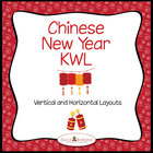 Chinese New Year KWL Charts - Graphic Organizers