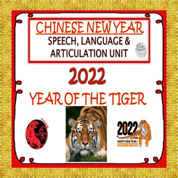Chinese New Year Speech, Language, Literacy & Articulation