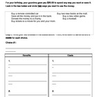 Choices worksheet
