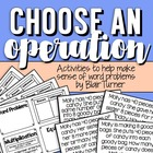 Choose an Operation! Making Sense of Word Problems
