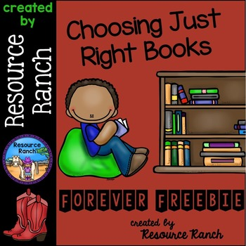 Choosing Just Right Books - Forever FREEBIE