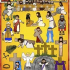 Christian Clip Art for Holy Week and Easter from Charlotte