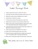 Christian Easter Bible Scavenger Hunt