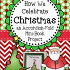 Christmas ~ Accordion Fold Mini-Book Activity