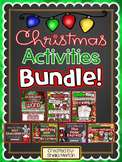 Christmas Activities BUNDLE PACK!