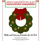 Christmas Activities K-3 Math & Reading Printables & Worksheets