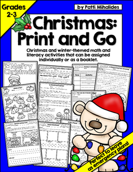 Christmas Activity Pages/Workbook