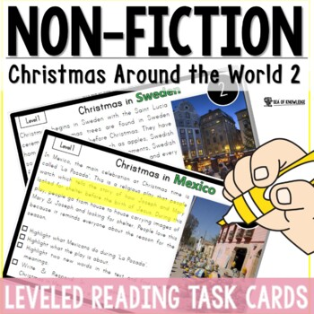 Christmas Around The World 2 {6 Countries Non-Fiction Reading {K-3}
