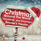 Christmas Around The World, Hanukkah, Kwanzaa Reader's The