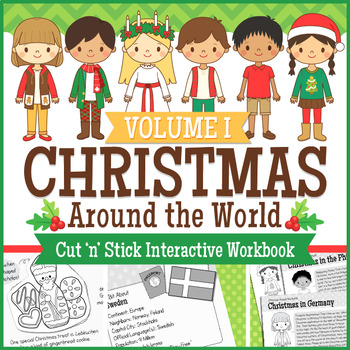 Christmas Around The World Interactive Packet