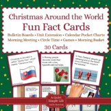 Christmas Around the World Fact Cards - Fun Unit Activity,