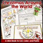 Christmas Around the World Mini Book Activity