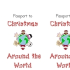 Christmas Around the World Passport Cover