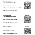 Christmas Around the World - QR Code Activity