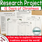 Christmas Around the World: Research Project (12 Days of C
