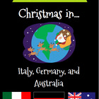 Christmas Around the World Set 2 - Italy, Germany, and Australia