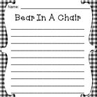 Christmas Bear In a Chair Journal - Bear Reports Back to Santa!