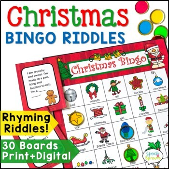 Christmas Bingo Riddles