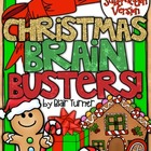 Christmas Brain Busters: Math Logic Problems {ADDITION/SUB