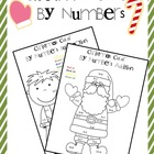 Christmas Color By Numbers (Addition and Subtraction)