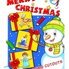 Christmas Coloring Cutouts: Adorable Holiday Coloring Cuto