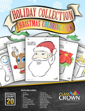 Christmas Coloring Pack - Coloring Book - Holiday Coloring