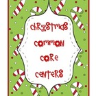 Christmas Common Core Centers