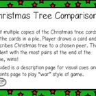 Christmas Comparison Freebie