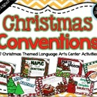 Christmas Conventions: 7 Common Core Language Arts Centers