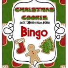 Christmas Cookie Bingo