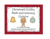 Christmas Cookie Math and Literacy Unit: 14 centers + activities!