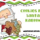 Christmas Cookies Kaboom Multiplication Game