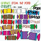 Christmas Crackers / Bon Bons - Clipart Graphics From the Pond