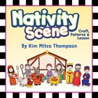 Christmas Craft for the Classroom: Make-A-Nativity Scene