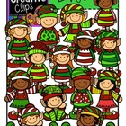 Christmas Elves {Creative Clips Digital Clipart}