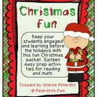 Christmas FUN {16 Reading and Math Activities}