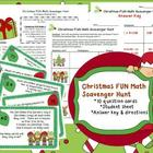 Christmas FUN Math Scavenger Hunt