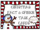 Christmas Fact and Opinion Task Cards