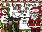 Christmas Friends Math Stations Galore Fun-12 Differentiat