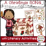 Christmas Song! Five Little Cookies - A Shared Reading Singable