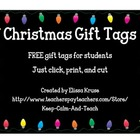 Christmas or Holiday Gift Tags FREE