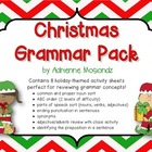 Christmas Grammar Pack