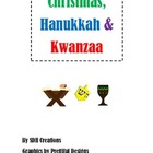 Christmas, Hanukkah & Kwanzaa: Cards & Labels, Webs and Ve