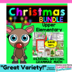 Christmas Holiday Bundled Activities for Upper Elementary