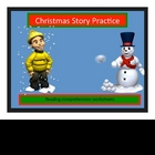Christmas Holiday Reading Comprehension Stories with Key