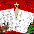 Christmas in Kindergarten: Initial Sound * CVC * Rhyming * Math