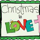 Christmas Is Love Printable Christian Book FREEBIE!