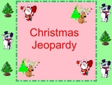 Christmas Jeopardy Smartboard Language Arts Lesson
